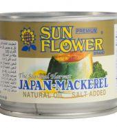 Seasonal Harvest Mackerel in Natural Oil