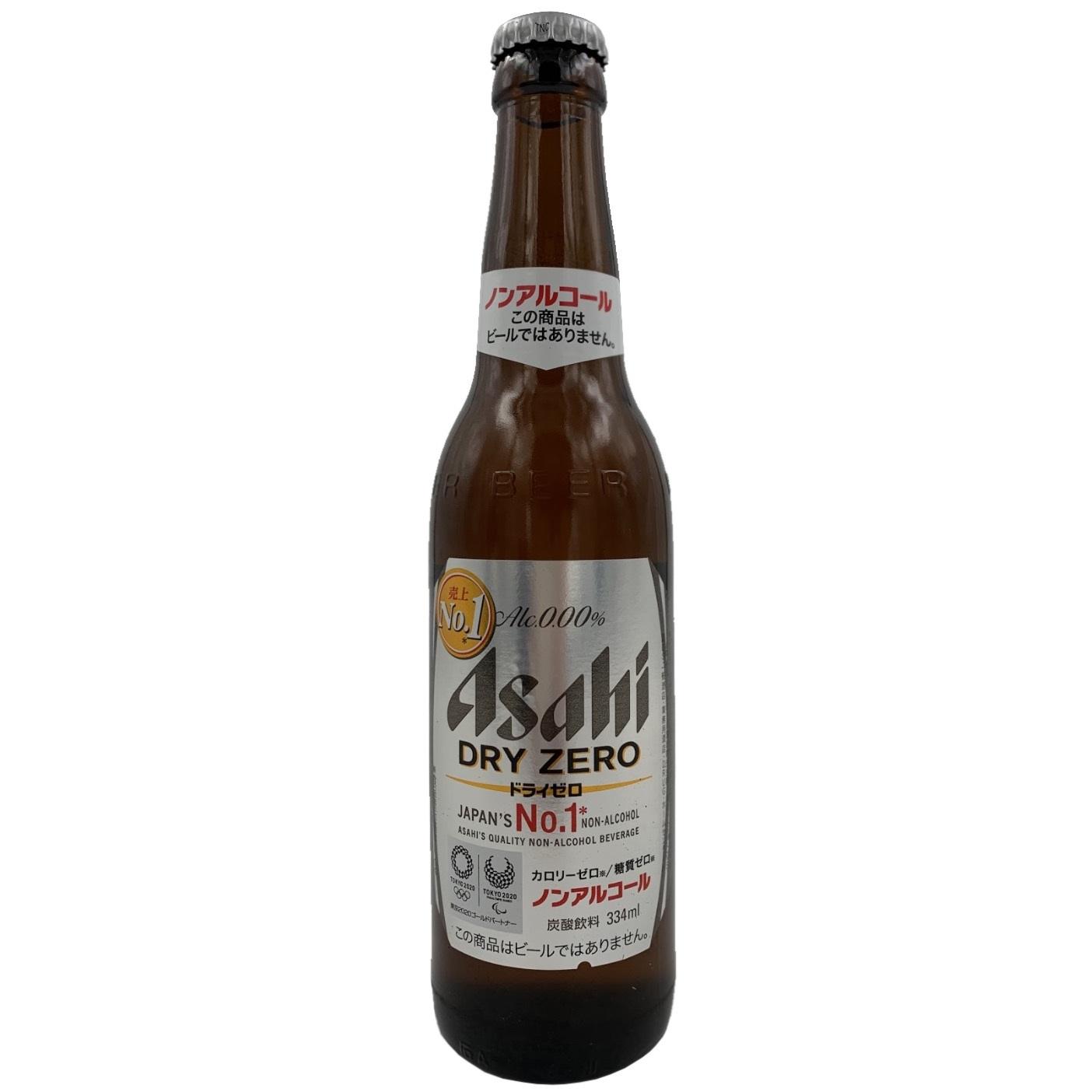 Asahi Non – Alcohol Beer Bottle
