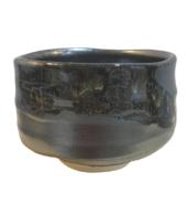 Black Glaze Tea Cup