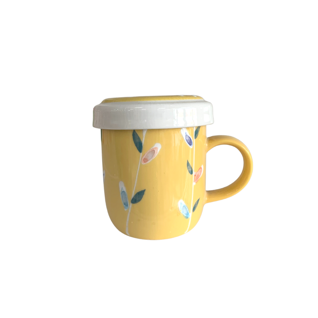 Yellow Leaf Cup