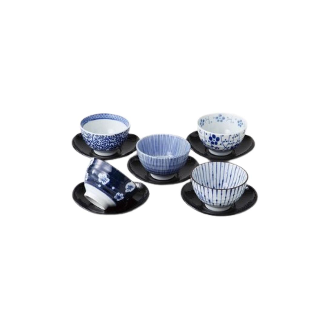 Aizengoyo Sencha Cup and Plate