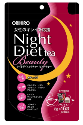 OIHIRO NIGHT DIET TEA BEAUTY